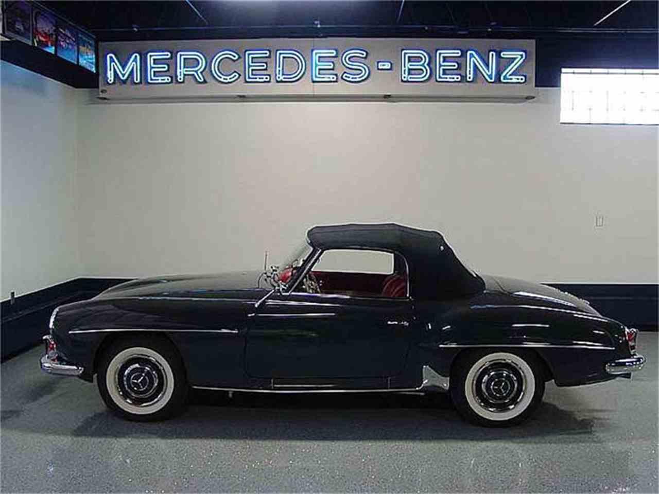 1962 mercedes benz 190sl for sale cc 875413. Black Bedroom Furniture Sets. Home Design Ideas