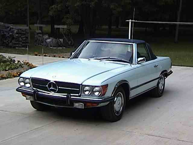 classic mercedes benz 350sl for sale on. Black Bedroom Furniture Sets. Home Design Ideas