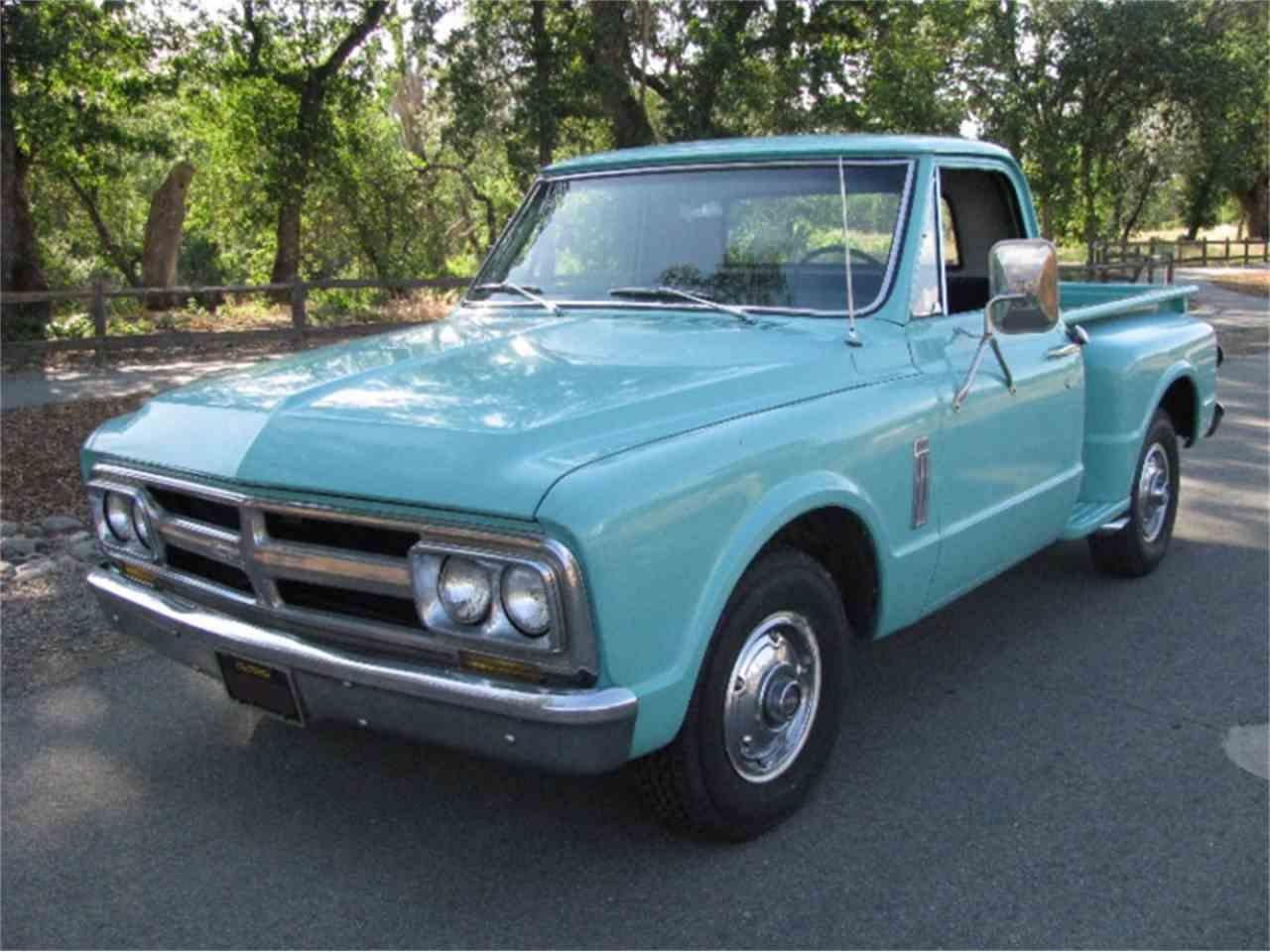 1967 gmc pickup for sale cc 875686. Black Bedroom Furniture Sets. Home Design Ideas