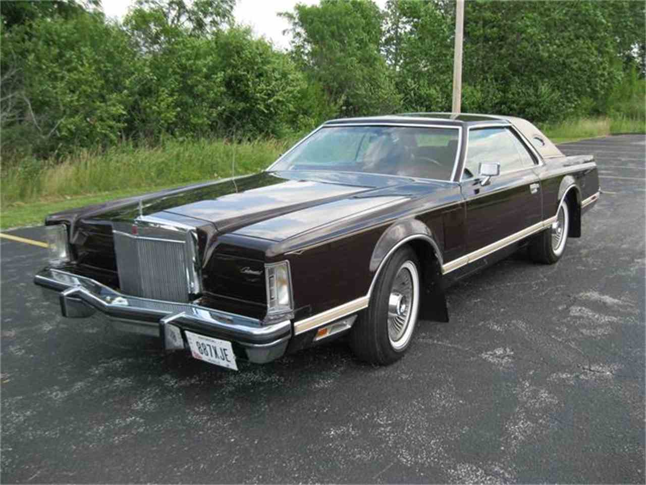 1978 lincoln continental mark v for sale. Black Bedroom Furniture Sets. Home Design Ideas
