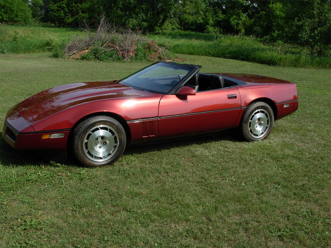 Large Picture of '86 Corvette - IRZL