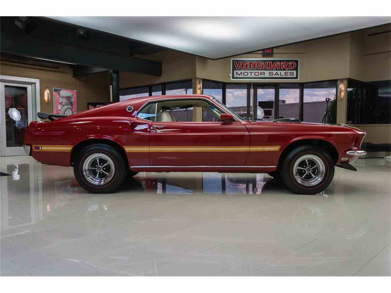 Large Picture of '69 Mustang Mach 1 S Code - IS3G