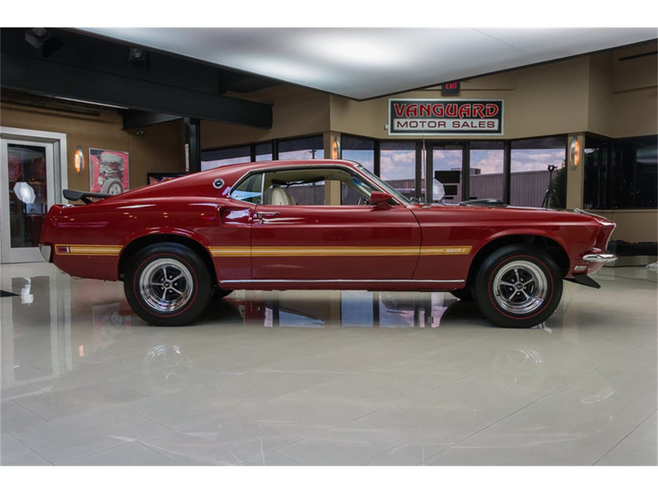 Large Picture of Classic '69 Ford Mustang Mach 1 S Code located in Michigan - IS3G