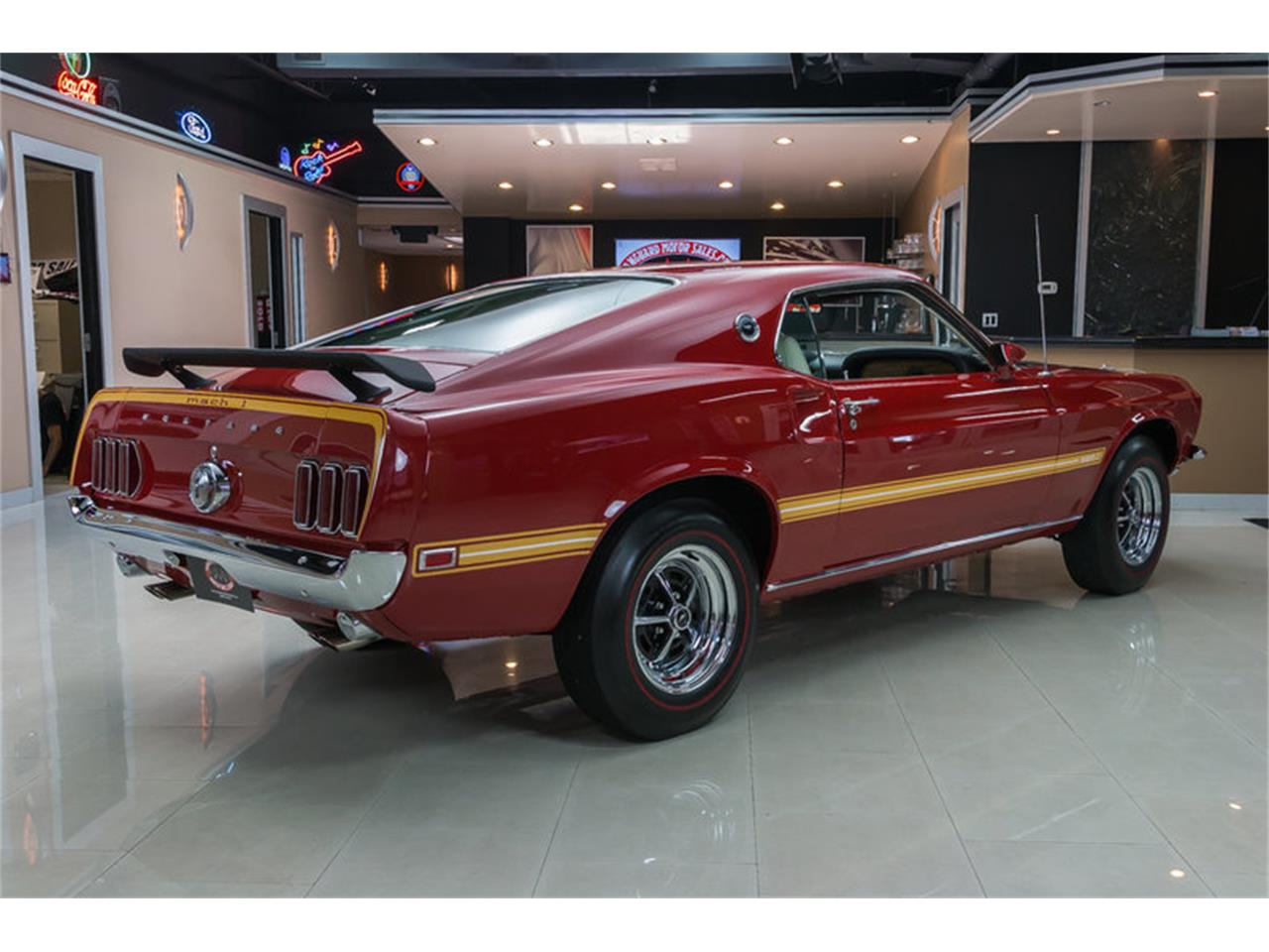 Large Picture of Classic '69 Ford Mustang Mach 1 S Code located in Plymouth Michigan Offered by Vanguard Motor Sales - IS3G