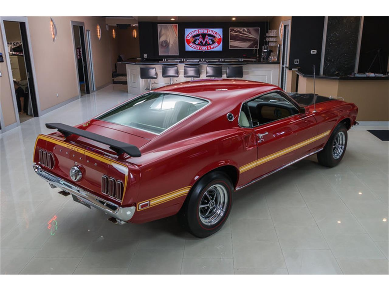 Large Picture of Classic '69 Ford Mustang Mach 1 S Code located in Michigan Offered by Vanguard Motor Sales - IS3G