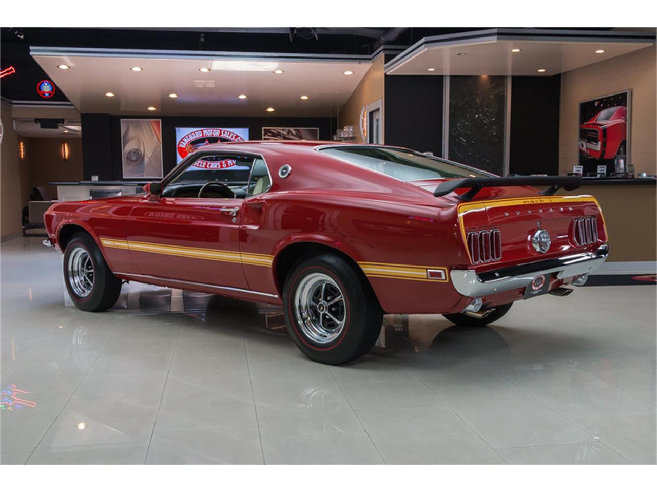 Large Picture of Classic 1969 Mustang Mach 1 S Code located in Plymouth Michigan Offered by Vanguard Motor Sales - IS3G