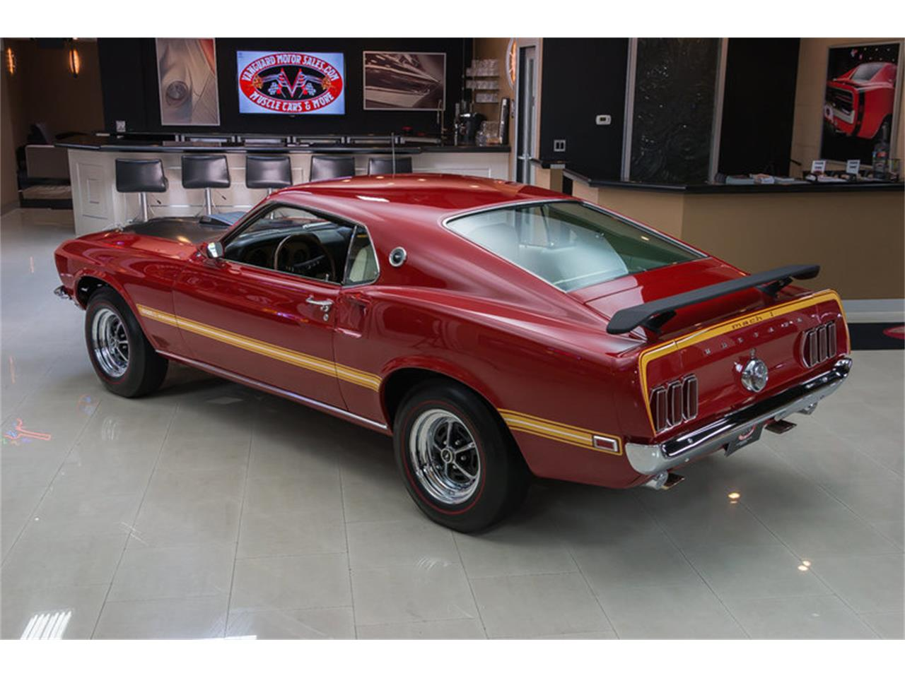 Large Picture of 1969 Mustang Mach 1 S Code - IS3G