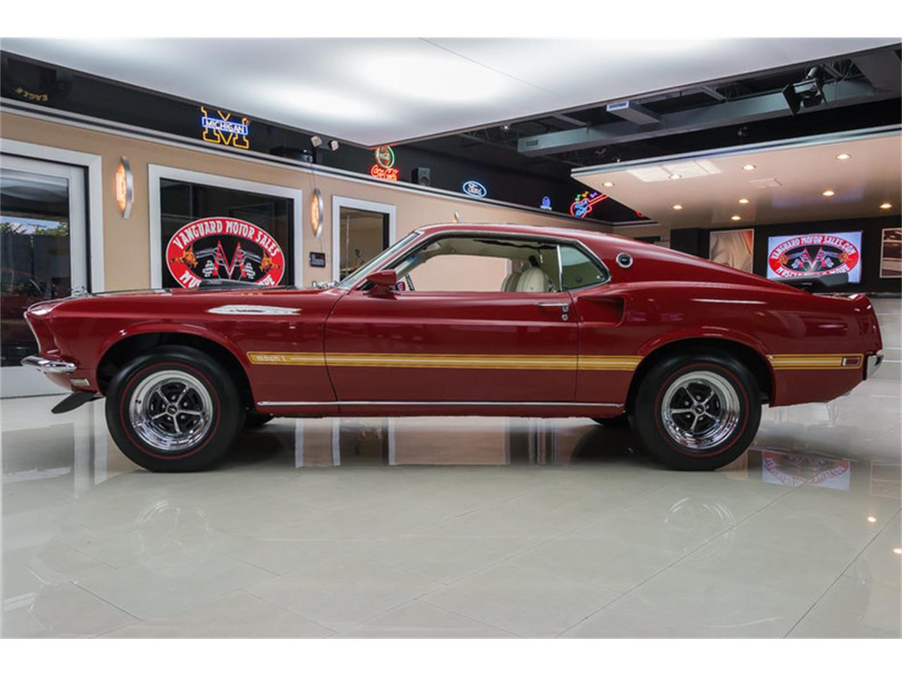 Large Picture of 1969 Ford Mustang Mach 1 S Code - $59,900.00 Offered by Vanguard Motor Sales - IS3G