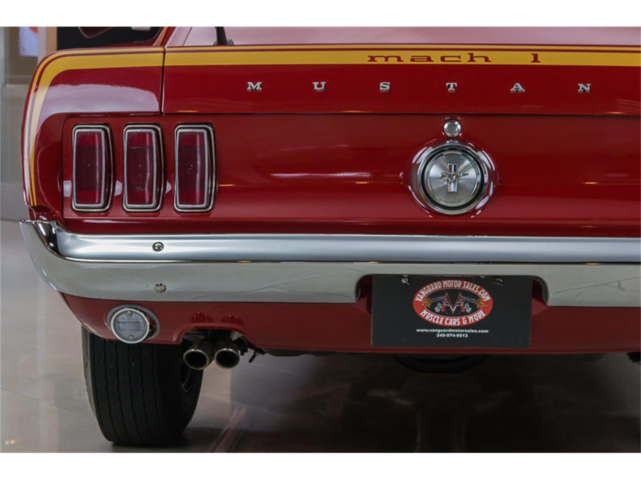 Large Picture of Classic 1969 Mustang Mach 1 S Code located in Plymouth Michigan - $59,900.00 - IS3G