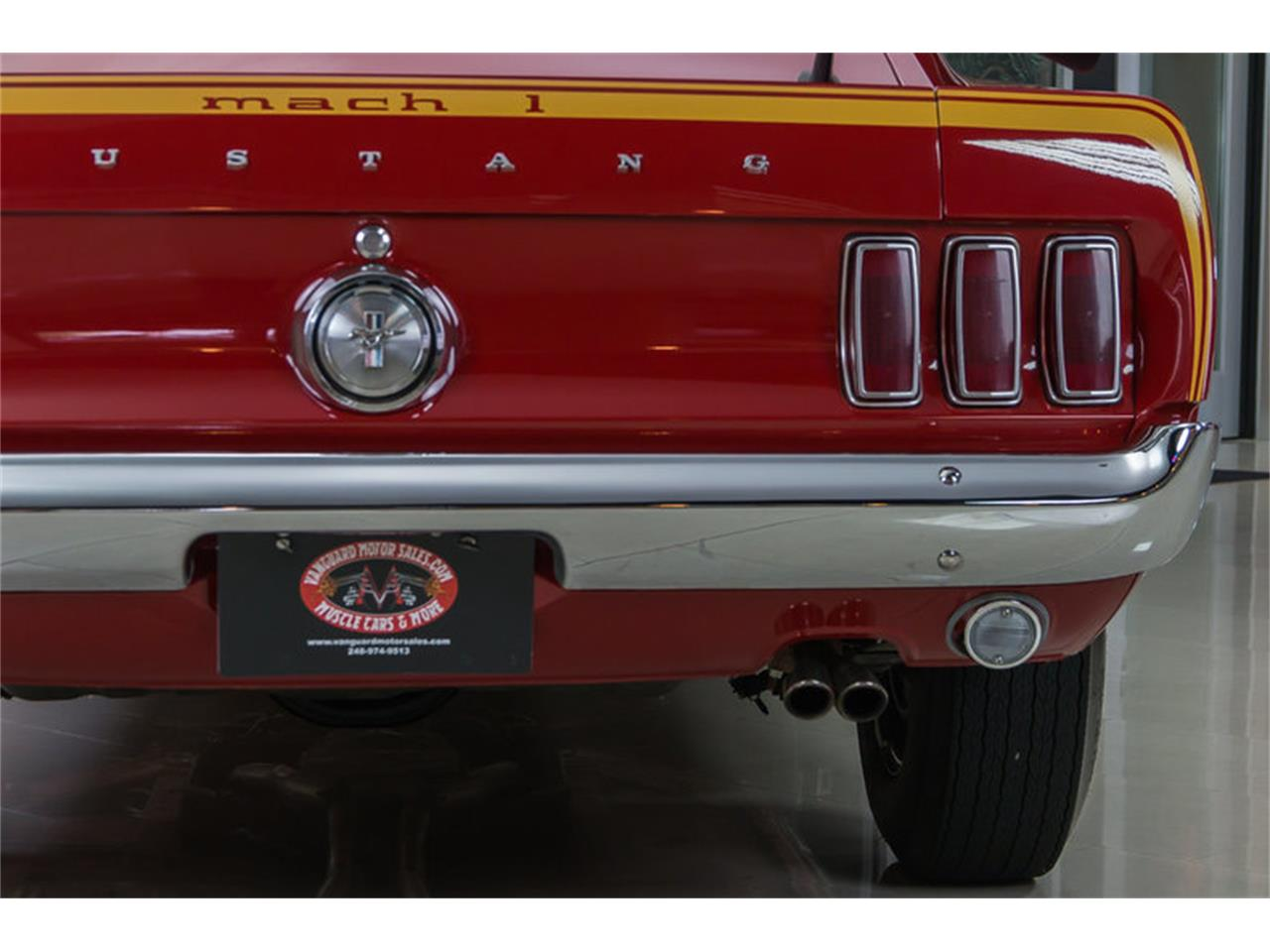 Large Picture of 1969 Ford Mustang Mach 1 S Code Offered by Vanguard Motor Sales - IS3G