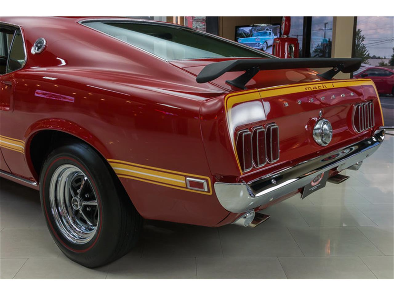 Large Picture of 1969 Ford Mustang Mach 1 S Code located in Plymouth Michigan - $59,900.00 Offered by Vanguard Motor Sales - IS3G