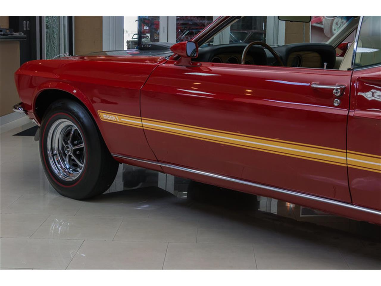 Large Picture of Classic '69 Ford Mustang Mach 1 S Code - IS3G