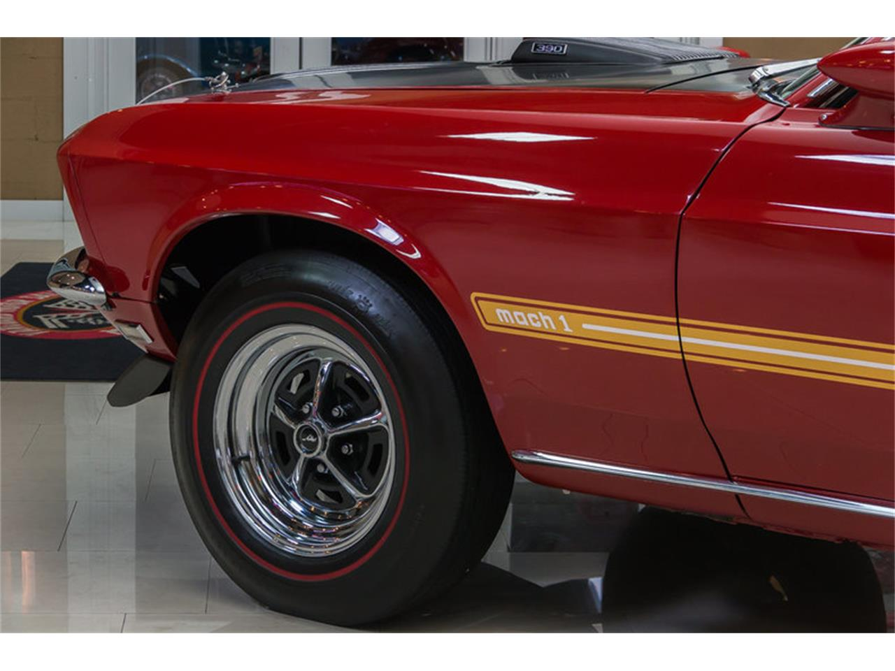 Large Picture of Classic 1969 Ford Mustang Mach 1 S Code located in Plymouth Michigan - $59,900.00 Offered by Vanguard Motor Sales - IS3G