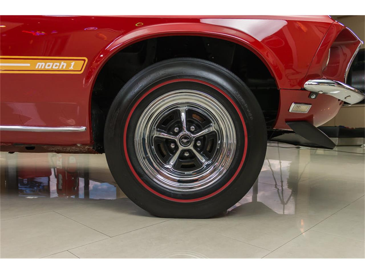 Large Picture of 1969 Ford Mustang Mach 1 S Code located in Michigan Offered by Vanguard Motor Sales - IS3G