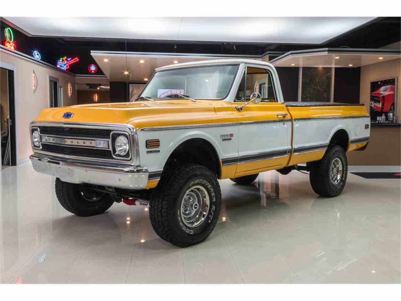 1970 chevrolet k 10 cheyenne 4x4 pickup for sale cc 876226. Black Bedroom Furniture Sets. Home Design Ideas