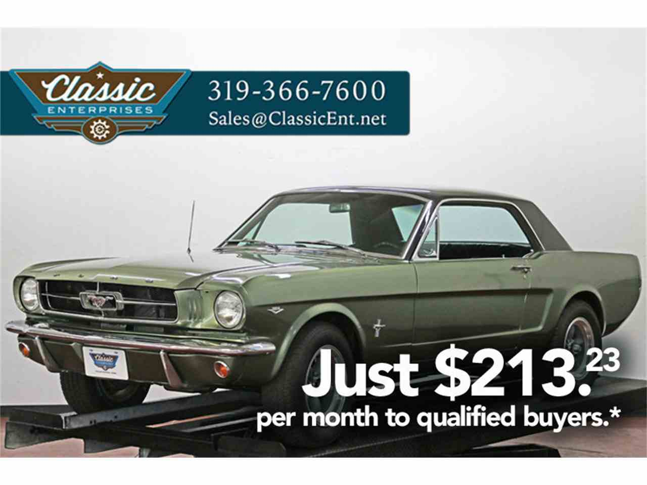 1965 Ford Mustang for Sale | ClassicCars.com | CC-876237
