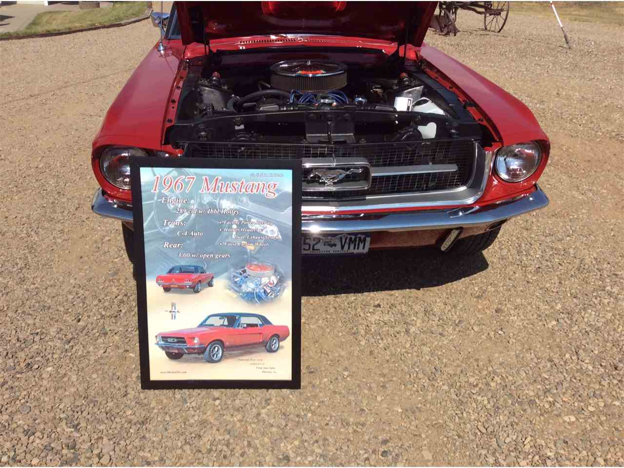 Large Picture of '67 Mustang - ISM7