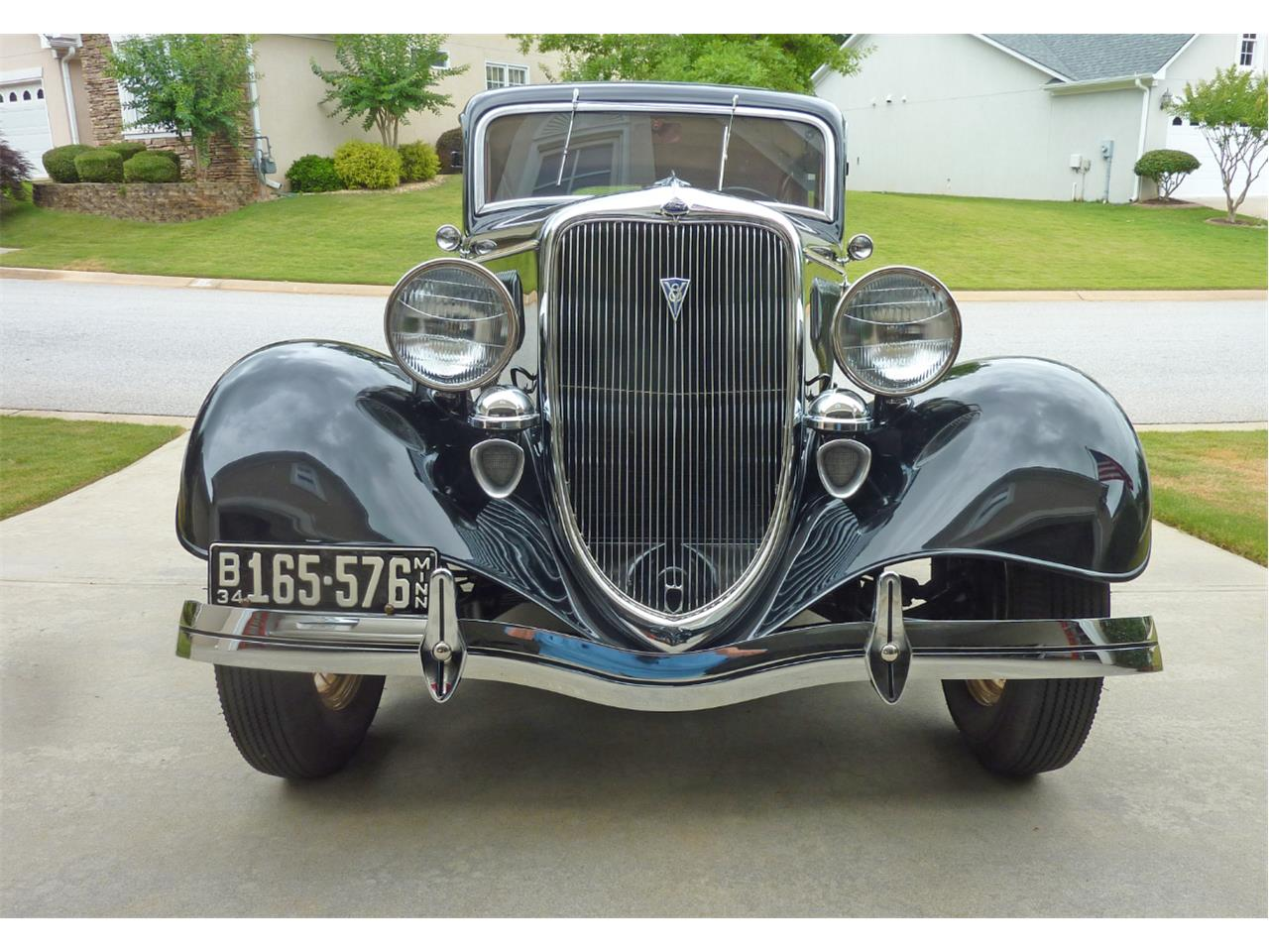 Large Picture of '34 Ford Sedan located in Georgia - $46,000.00 Offered by a Private Seller - ISZK