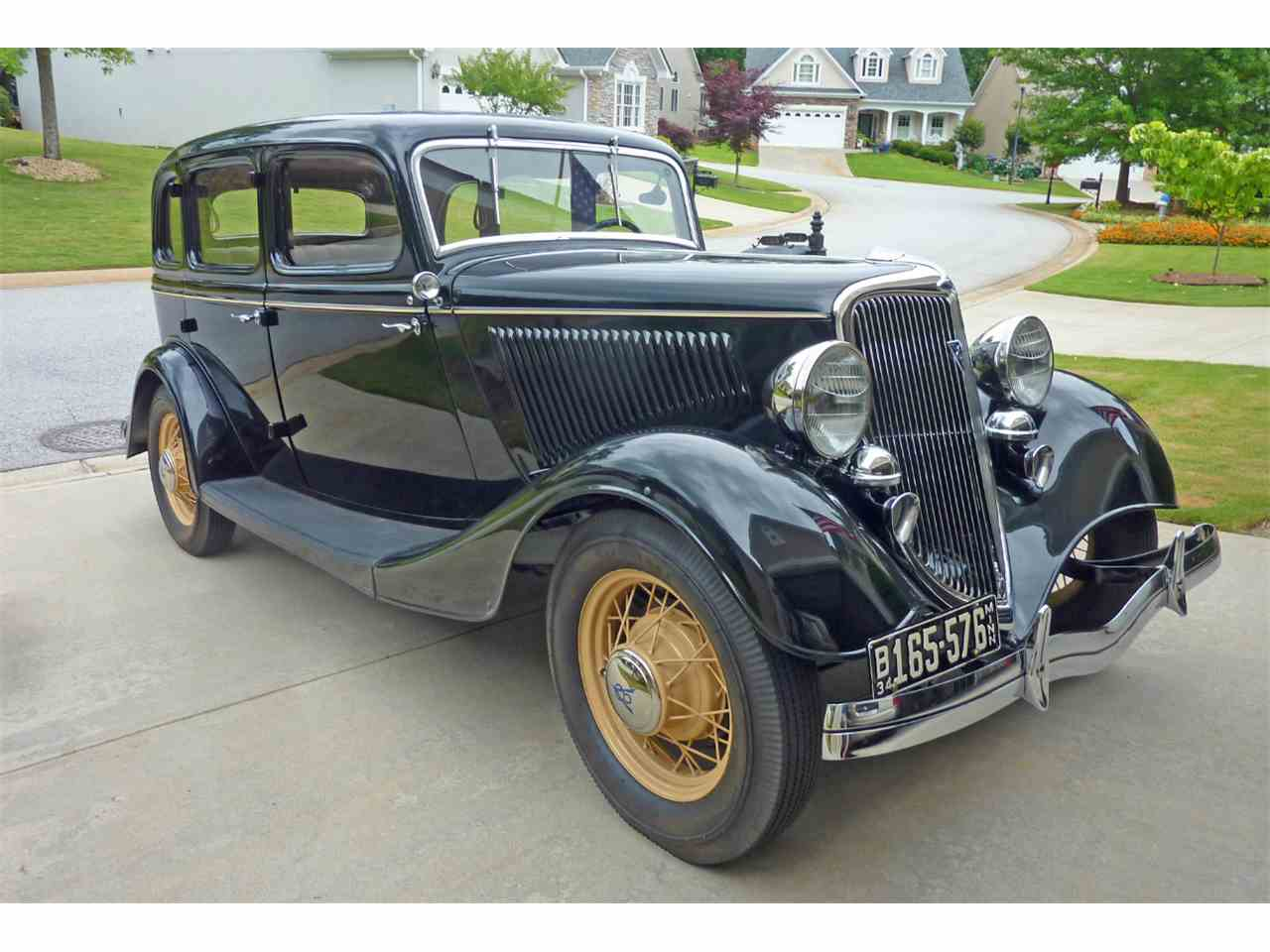 Large Picture of '34 Sedan - ISZK