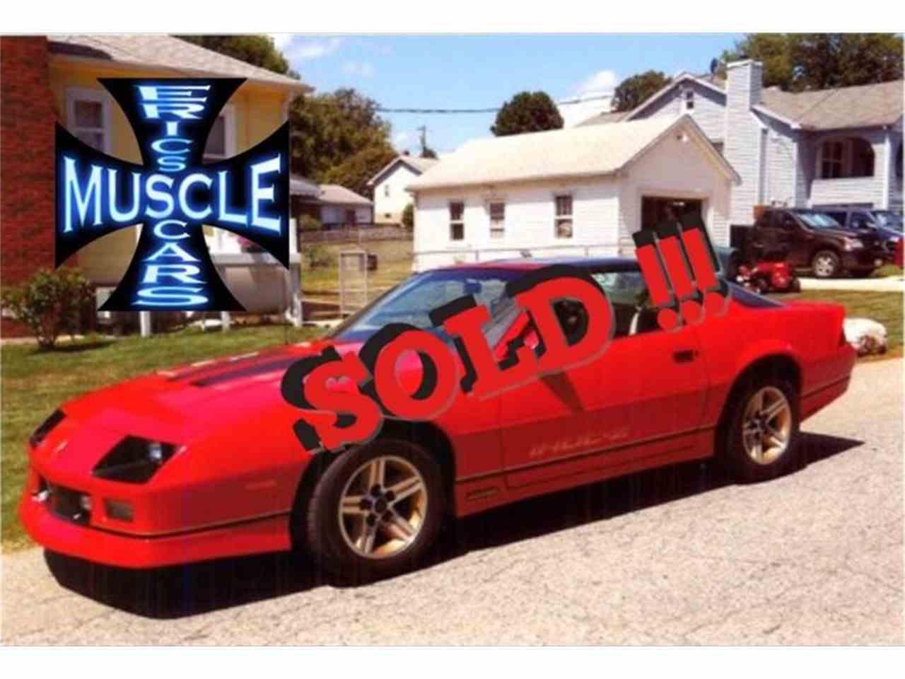 1986 Chevrolet Camaro for Sale | ClassicCars.com | CC-877570