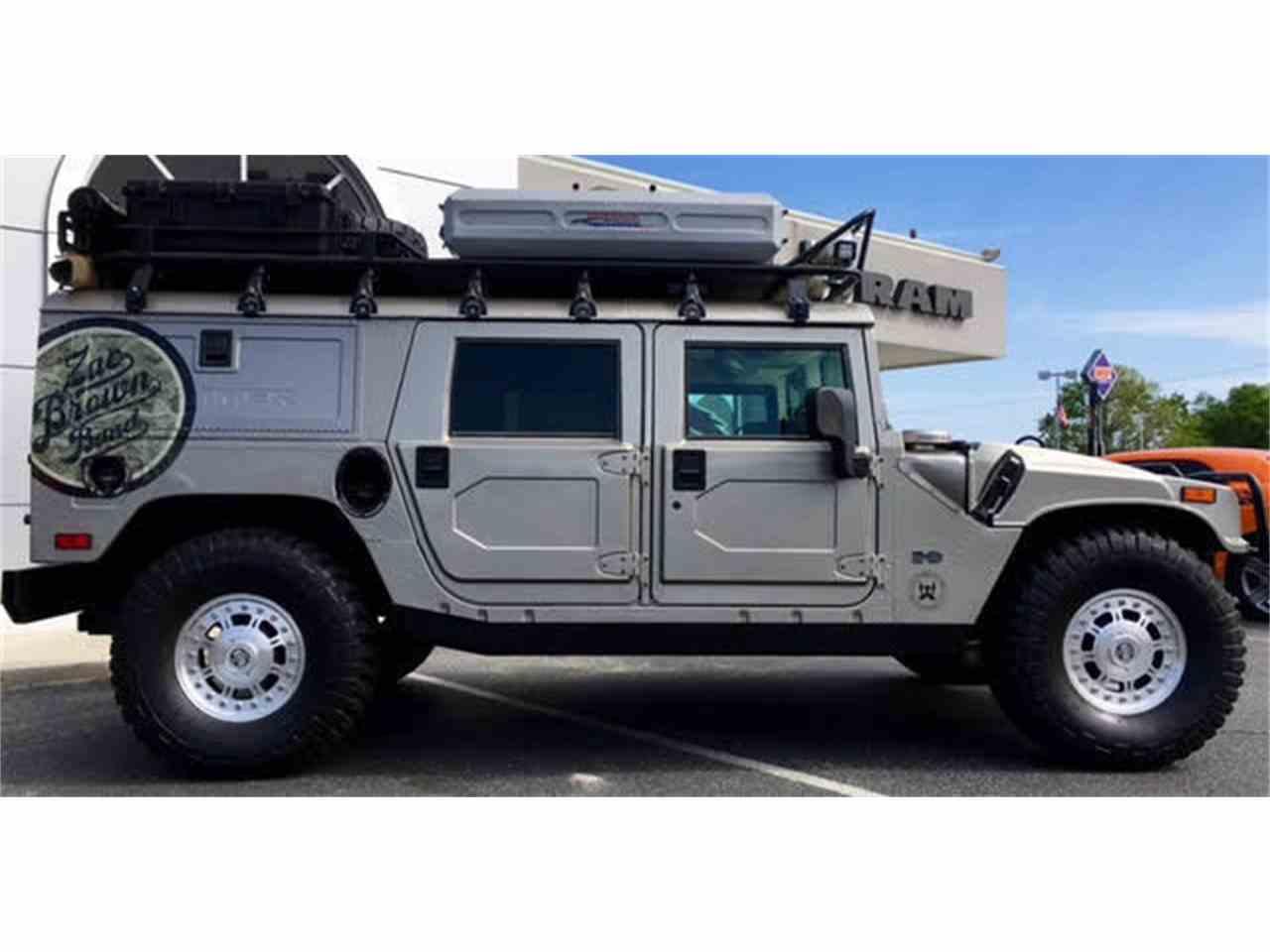 Hummer 2004 hummer h1 : 2004 Hummer H1 HMCS MP ZAC BROWN CUSTOM for Sale | ClassicCars.com ...