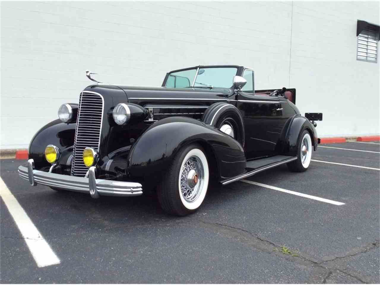 1936 cadillac 355 convertible for sale cc 878167. Black Bedroom Furniture Sets. Home Design Ideas