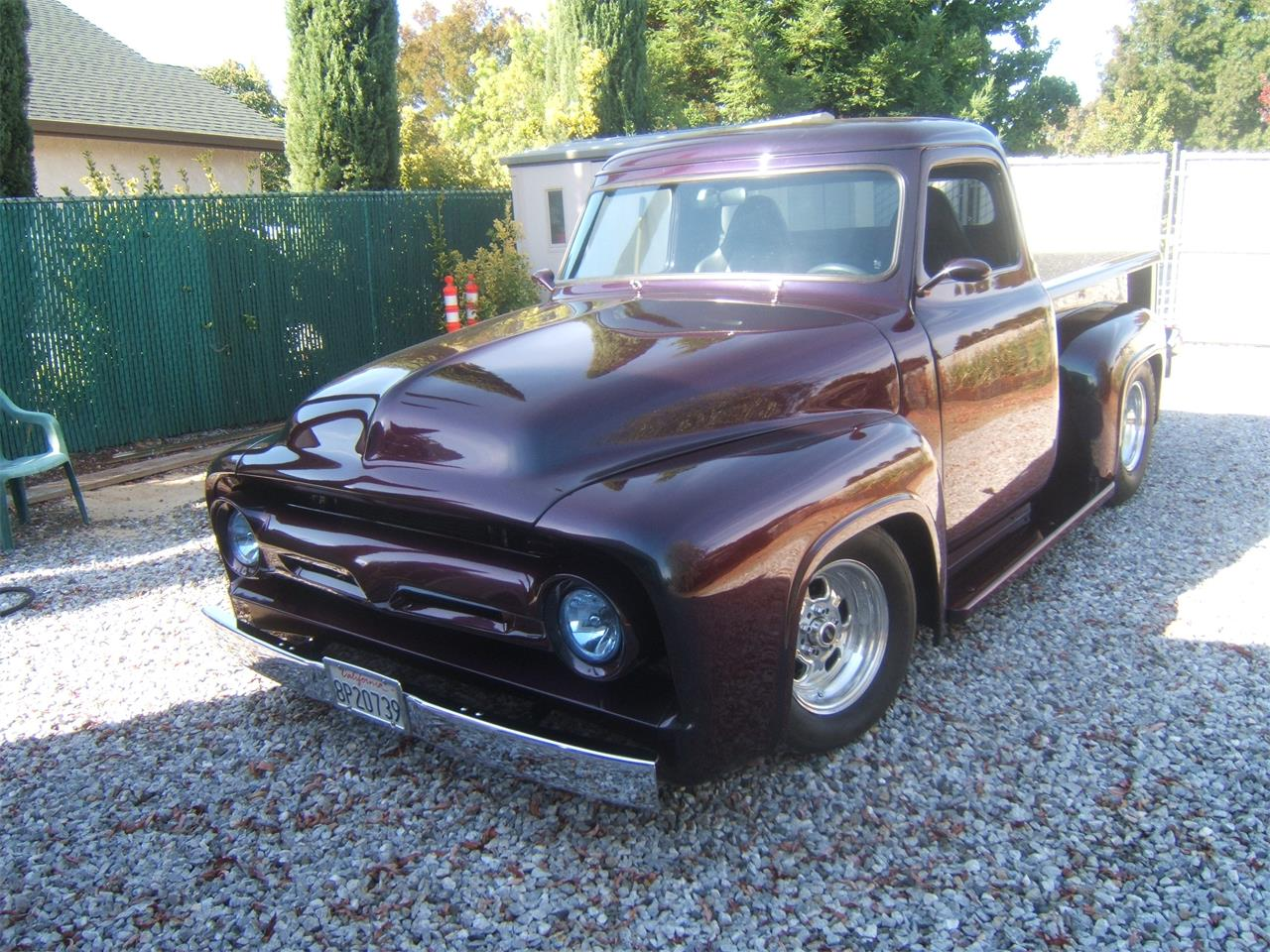 1955 Ford F100 For Sale Cc 879394 Pick Up Gauge Cluster Large Picture Of 55 Iujm