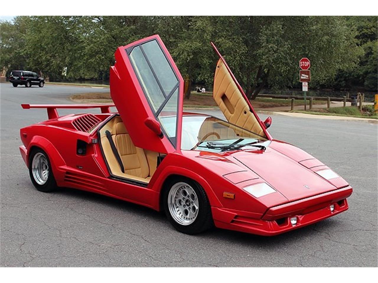 1989 lamborghini countach for sale | classiccars | cc-881046
