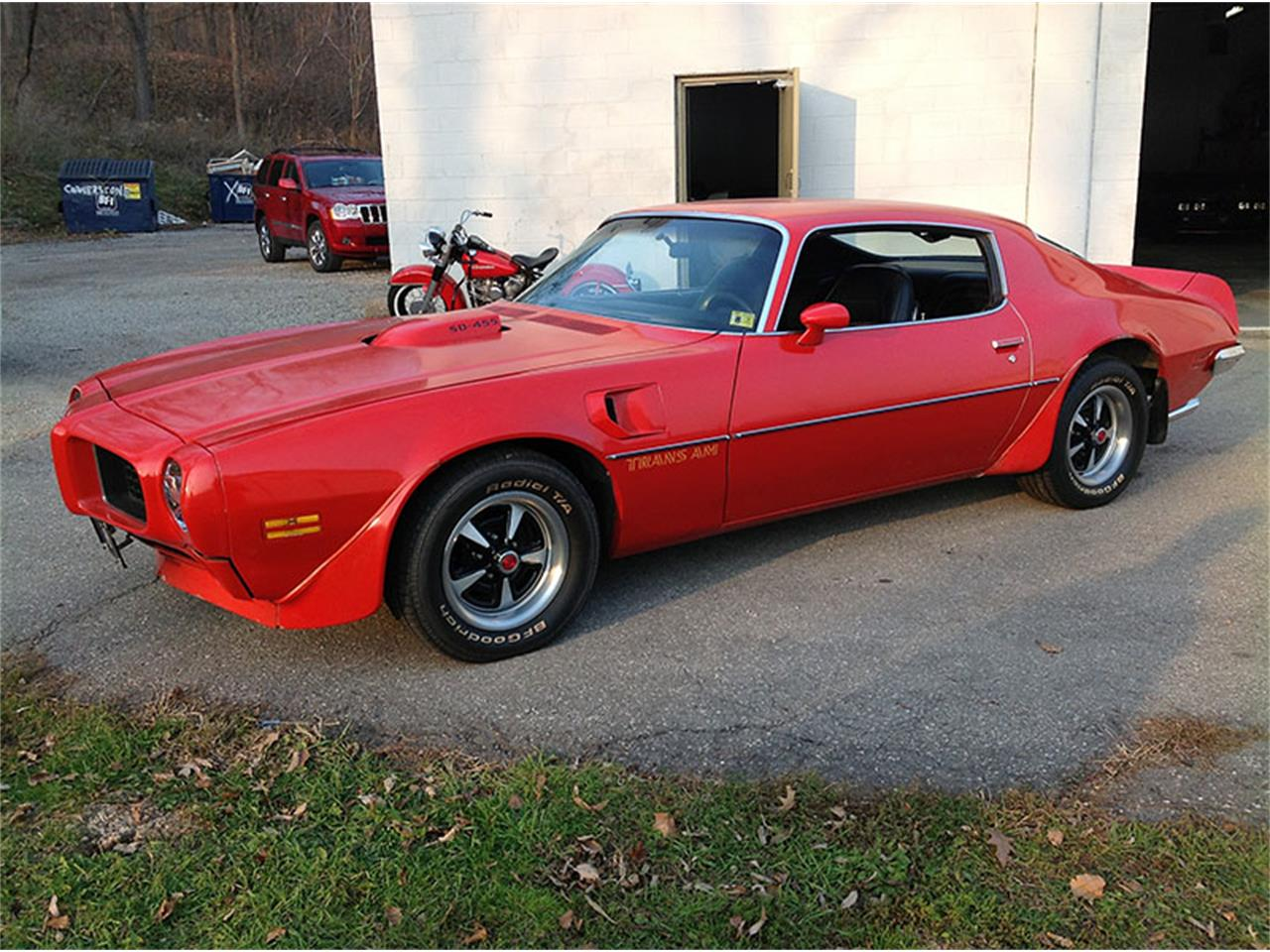 1973 Pontiac Firebird Trans Am For Sale Classiccars Com