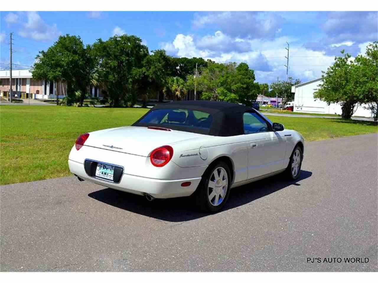 Large Picture of 2002 Ford Thunderbird located in Clearwater Florida - $16,900.00 - IW29