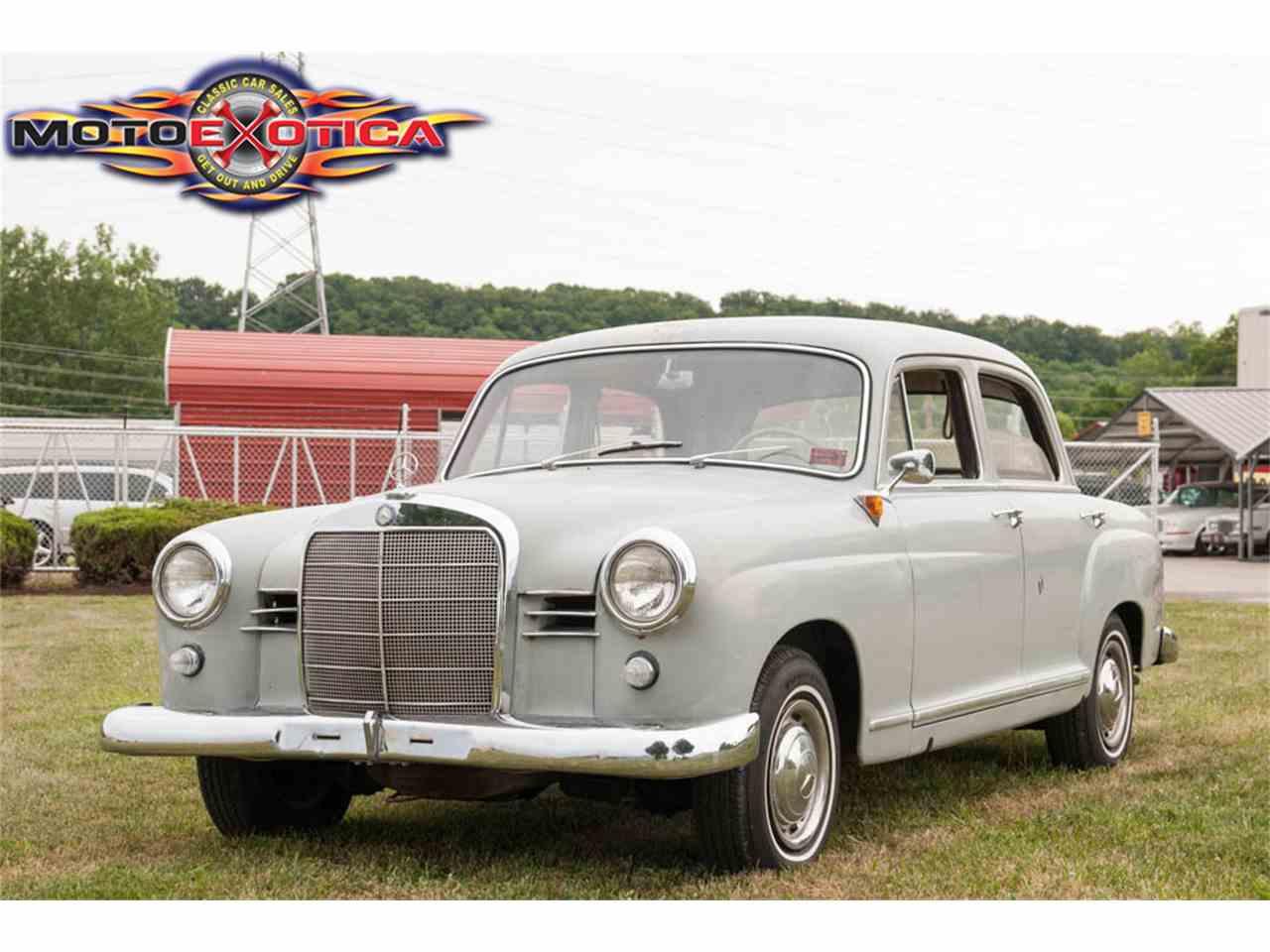 1961 Mercedes Benz 190D Pontoon for Sale | ClassicCars.com ...