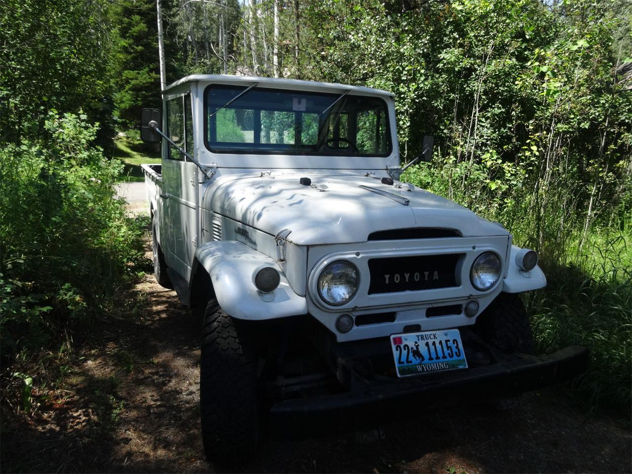 1968 Toyota Land Cruiser Fj45 For Sale Cc 881580 Large Picture Of 68 Iw8c