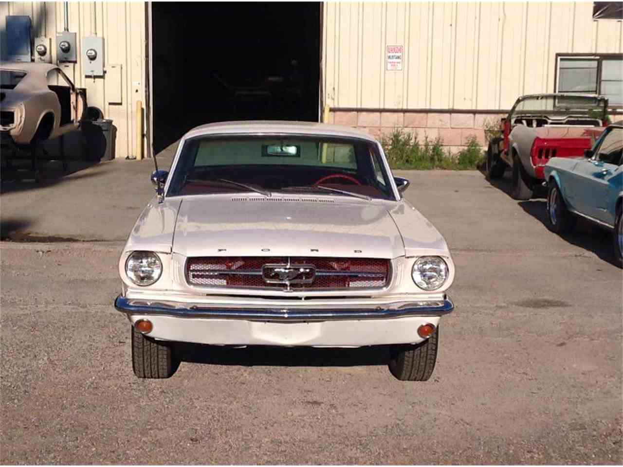Large Picture of '65 Mustang - IW8P