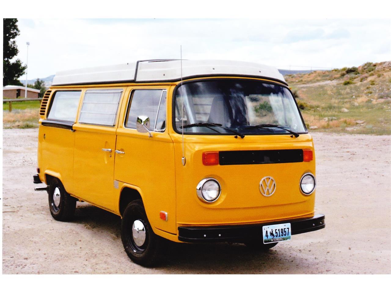 1976 Volkswagen Westfalia Camper For Sale Classiccars