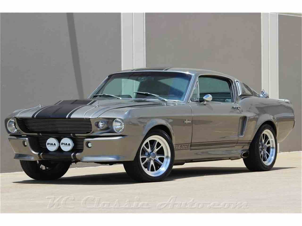 1968 ford shelby gt500 eleanor tribute 4 speed for sale cc 881939. Black Bedroom Furniture Sets. Home Design Ideas