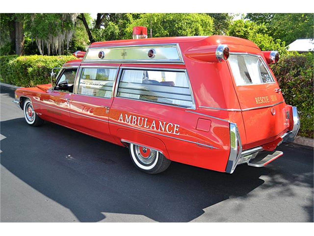 Large Picture of Classic 1972 Cadillac S&S Kesington Professional Ambulance located in Mount Dora (Orlando) Florida - $47,500.00 Offered by Classic Dreamcars, Inc. - IWNH