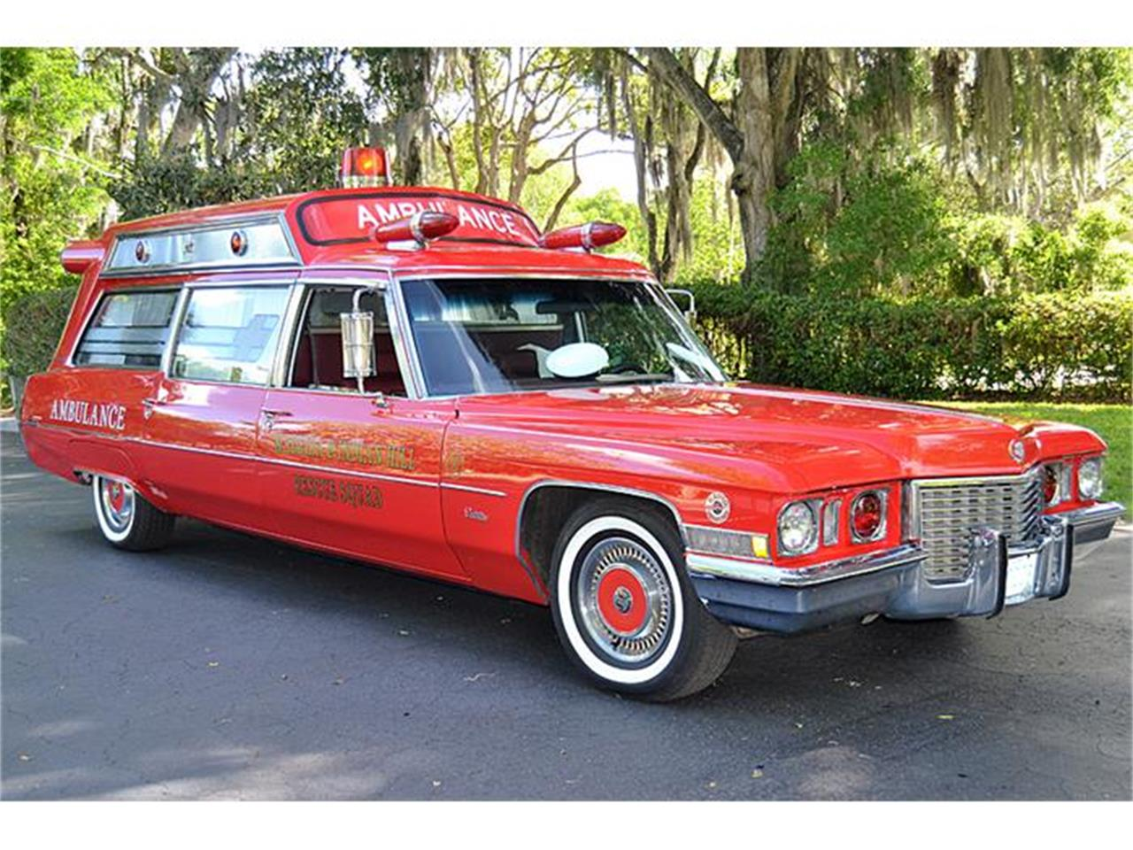 Large Picture of Classic 1972 S&S Kesington Professional Ambulance Offered by Classic Dreamcars, Inc. - IWNH