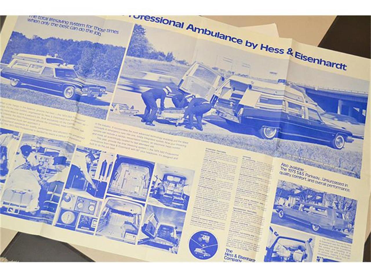 Large Picture of Classic 1972 Cadillac S&S Kesington Professional Ambulance located in Mount Dora (Orlando) Florida - IWNH