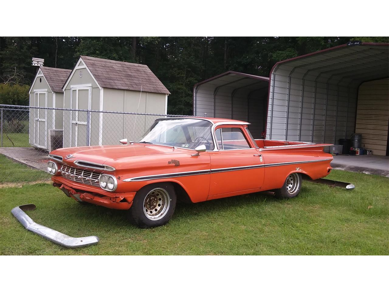 Large Picture of Classic '59 El Camino located in Darlington South Carolina - $9,500.00 Offered by a Private Seller - IWY1
