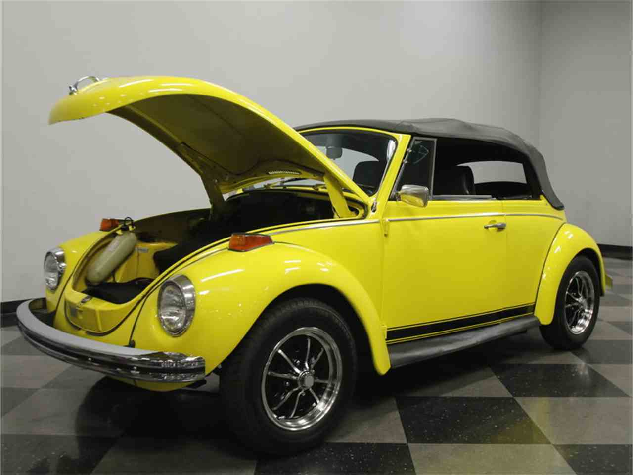 1971 volkswagen super beetle convertible for sale cc 882547. Black Bedroom Furniture Sets. Home Design Ideas