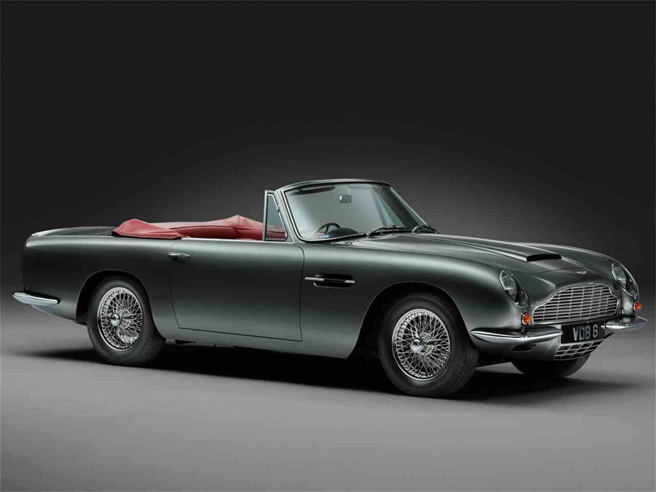 Large Picture of '67 Aston Martin DB6 MKI Vantage Volante located in Maldon, Essex  Auction Vehicle Offered by JD Classics LTD - IVCB