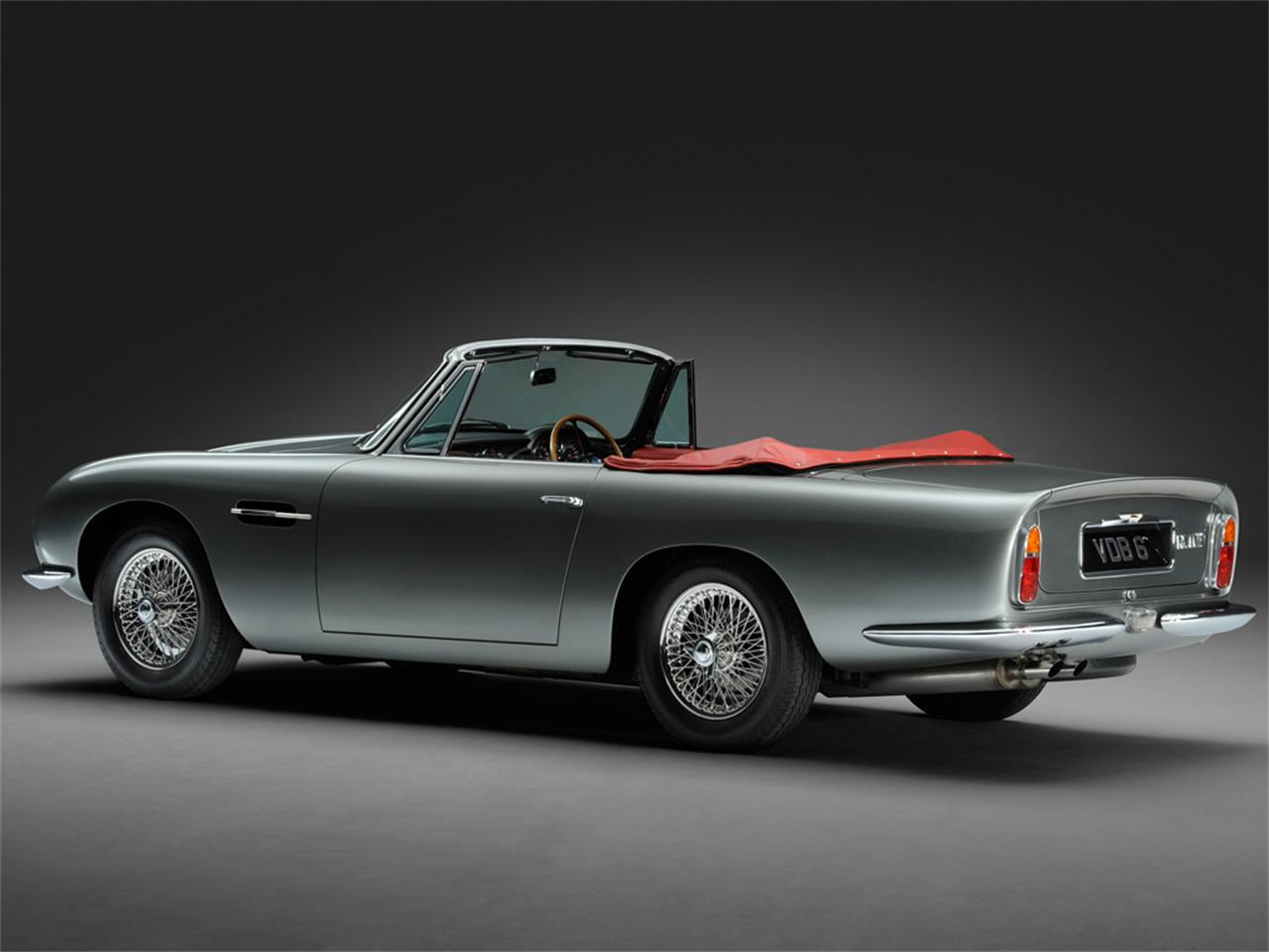 Large Picture of Classic '67 Aston Martin DB6 MKI Vantage Volante Auction Vehicle - IVCB