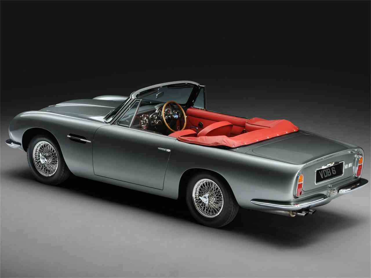Large Picture of Classic '67 Aston Martin DB6 MKI Vantage Volante Offered by JD Classics LTD - IVCB