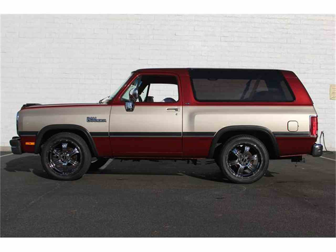 Large Picture of '93 Ramcharger - IZ4Y
