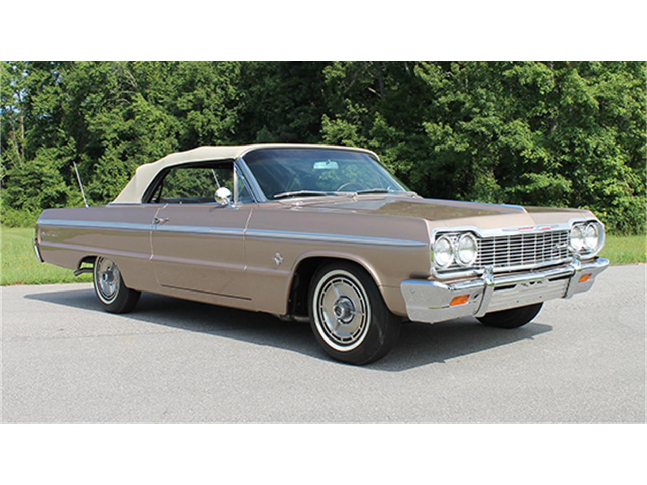 1964 Chevrolet Impala Ss 409 Convertible For Sale