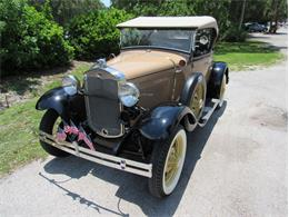 Picture of '31 Ford Model A located in Florida - $46,500.00 Offered by Vintage Motors Sarasota - IZQA