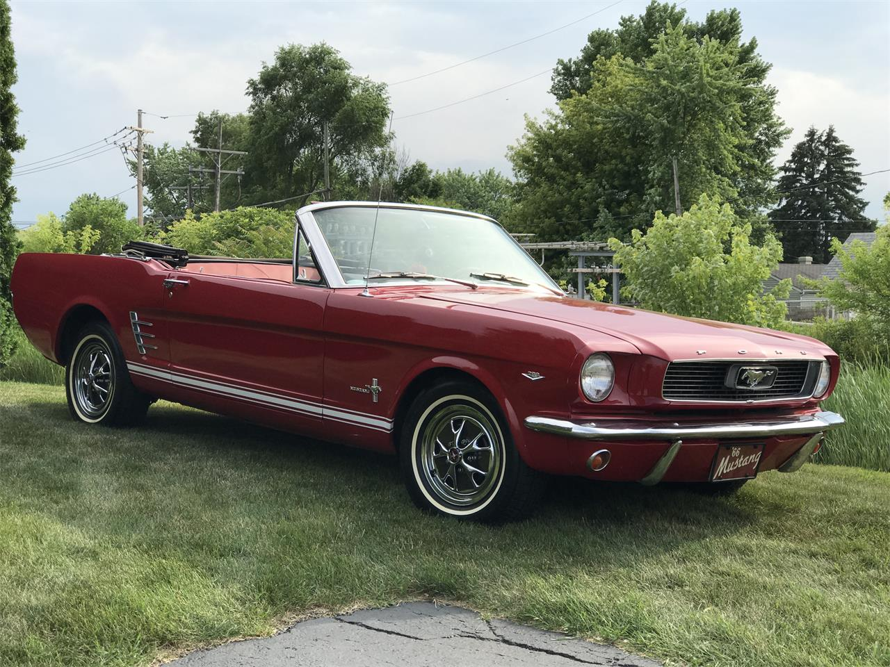 Large Picture of '66 Mustang - IZYP