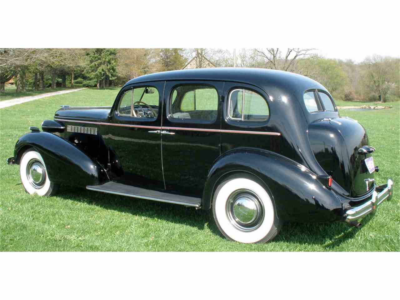 Large Picture of '37 Buick Roadmaster Offered by Connors Motorcar Company - J04H