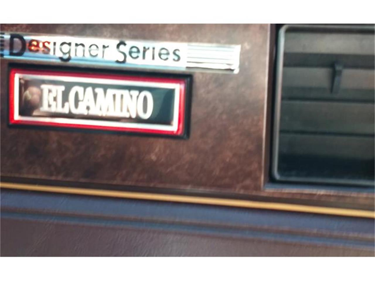 Large Picture of '83 El Camino - J05V