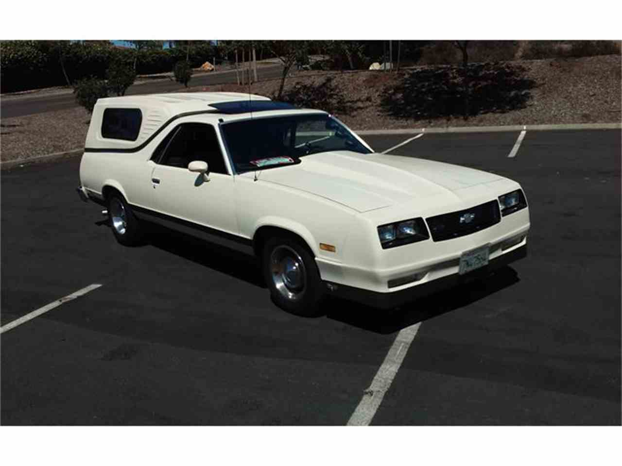 Large Picture of 1983 Chevrolet El Camino located in California - $8,700.00 Offered by a Private Seller - J05V